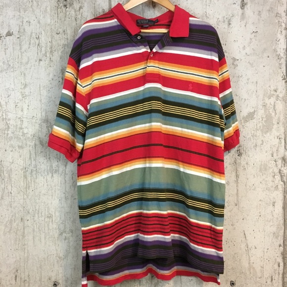Polo by Ralph Lauren Other - Polo Ralph Lauren short sleeve shirt striped XLT